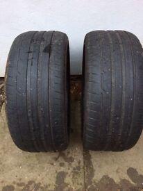 235 40 18 Y Dunlop Tyres X 2