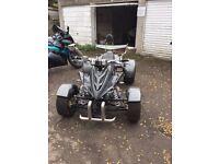 2014 Spy racer 350cc quad