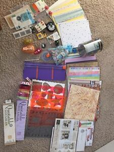 Loads of scrapbook materials