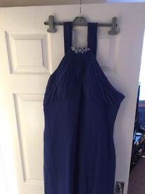Royal Blue Bridesmaid Dress/ Formal Dress