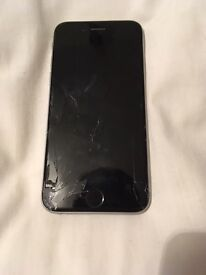 iPhone 6, 16gb damaged (cosmetic only)