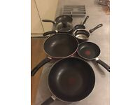 Saucepans kitchen pans