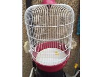 Small round birds cage in great condition