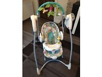 Graco baby swing and bounce 2in1