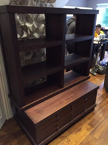 Coffee table and book shelfin Tower Hamlets, LondonGumtree - Coffee table and book shelf , can be used separately but we stacked them. The coffee table has large draws