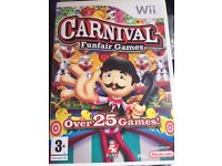 Carnival wii game