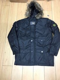 Men's Stone Island, Northface jackets for sale