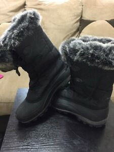 Snowy boots is not used