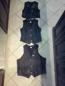 LEATHER VESTS FOR SALE