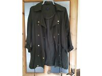M&S coat size 12 as new!