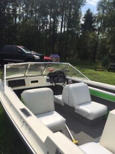 1976 Starcraft 140 hp inboard. Trade for mountain sled!
