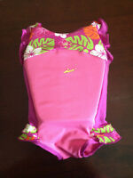 kids bathing suit with floaters inside