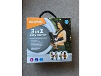 BabyWay 3 in 1 baby and infant carrier