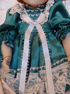 Meggan's Collectors Canadian Procelain Handmade Doll Anna Belle London Ontario image 2
