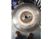 Granite/marble Diamond cutting blade 600mm never used!!