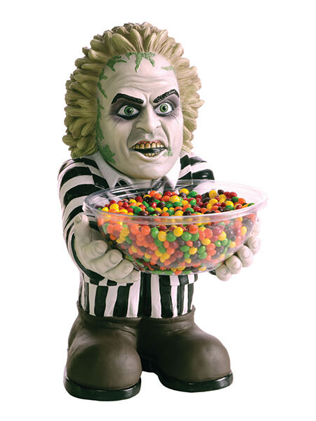 Trick or Treat Beetlejuice Horror Character Candy Holder