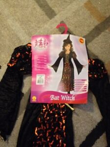 Bat Witch costume size 8-10 NEW with tags. AVAILABLE Gatineau Ottawa / Gatineau Area image 1