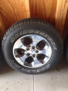 Tires and Rims P255/70R18