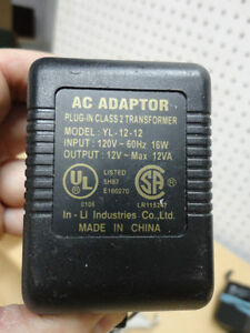 Assortment of AC Power Adapters -See Pictures for Voltages $5/ea Kitchener / Waterloo Kitchener Area image 3