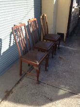 Vintage Dining Chairs Thornbury Darebin Area Preview
