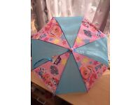 childs PAW PATROL UMBRELLA - PINK SKYE CHARACTER