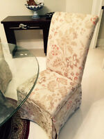Four Bombay company chairs