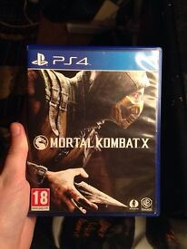 PS4 Mortal Kombat. X