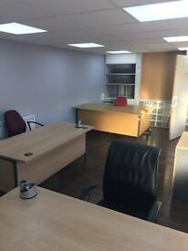 24HRS ACCESS OFFICE WITH DESK & BILL INCLUDE