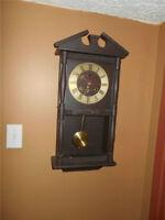 Horloge Grand-Père Three Star 30 jours avec Clé
