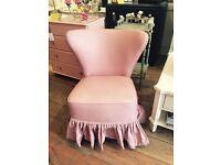 Stunning little Chair with skirt.