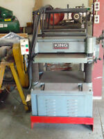 "20"" auto Planer  King Industrial"