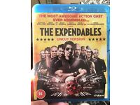 The expendables blu ray
