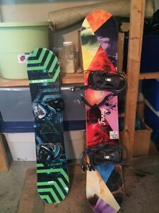 Kids Snowboards (Male and Female)
