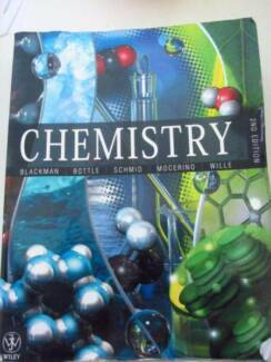 CHEMISTRY TEXT BOOK Blackman 2nd Edition  .