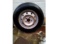 Fiat Ducato Boxer or Relay Wheel & Tyre