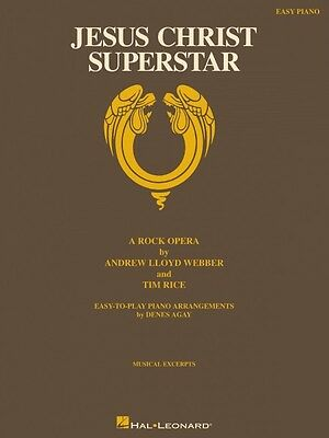Jesus Christ Superstar Sheet Music A Rock Opera Easy Piano Vocal Selec 000120126