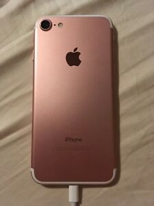 iPhone 7 rose gold trade black iPhone 7
