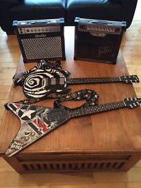 Paper Jamz Guitars and Amps