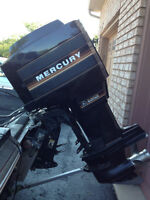 Mercury Black Max XR2 150 2.0 motor trim outboard blackmax hp
