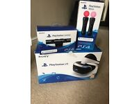 PlayStation VR PS VR Headset fully boxed with PS4 Camera and a pair of Move controllers