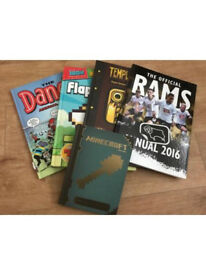 Books bundle dandy annual 2015 rams annual minecraft floppy bird temple run