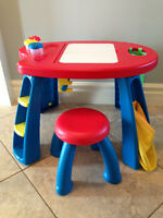 Kid's Art and Crafts Table