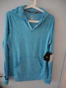 Blue NEW NIKE DriFit women Running sports top Size M Kogarah Rockdale Area Preview