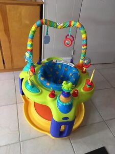 Activity Center and Baby Bjorn Carrier