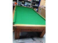 9 ball pool table 7x4
