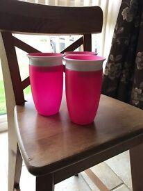 Munchkin 360 trainer cups x 3