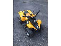 Kazuma 50cc quad