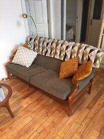 Retro mid century sofa