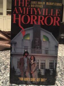 Amityville horror rare VHS OOP London Ontario image 1