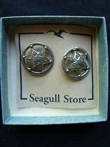 Seagull Pewter Earrings